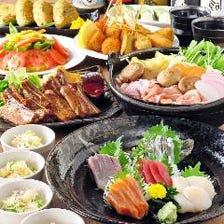 3H飲み放題付:期間限定!『北海道鮮魚と絶品鍋食べ放題コース』全8品3980円→2980円