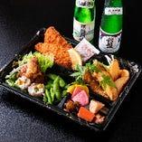 おつまみ&日本酒セット
