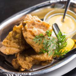 鶏の唐揚げ ハニーマスタードソース