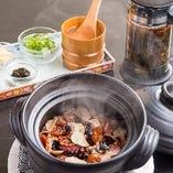 季節の土鍋ごはん 京都産 無農薬焙じ茶付き