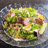 本日の地野菜サラダ
