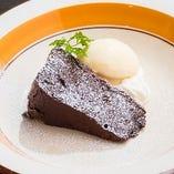 チョコレートネメシス バニラアイス