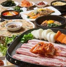 本場韓国のサムギョプサル