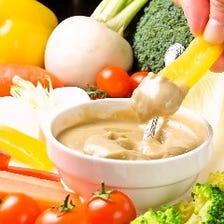 野菜が美味しく食べれる料理が豊富