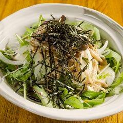 有機豆富の韓国風サラダ