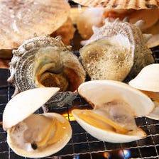 ◇当日ご利用OK◇2大特典付 ◇新鮮貝類をたっぷりと♪【120分浜焼き食べ放題コース】約40品 4,400円