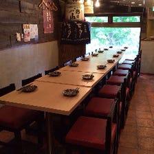 【貸切】2階テーブル席12名~貸切OK
