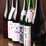 鯖と相性ぴったり♪季節の厳選日本酒は約10種ご用意しております