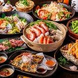 豪華海鮮ちゃんこ鍋コース