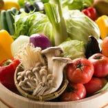 旬の食材を使用した季節を味わえるお料理をご用意