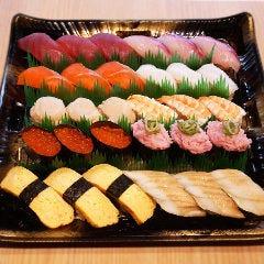 大満足!定番寿司盛り「並」