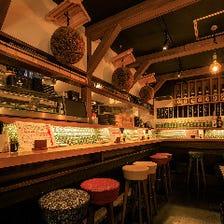 寿司酒場 × バル空間の融合