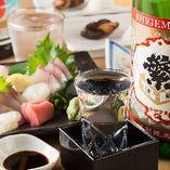 日本酒と相性の良い逸品が勢揃い!