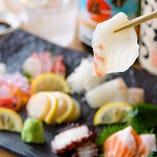 さっぱりとした白身魚は日本酒や白ワインで