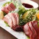 【鮮度抜群】 馬刺しや桜鍋など新鮮馬肉を絶品料理にしてご提供
