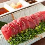 桜肉たたき