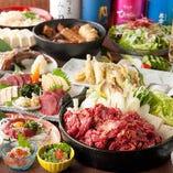 【2.5時間飲み放題付】馬刺し・桜鍋コース〈全11品〉宴会・飲み会