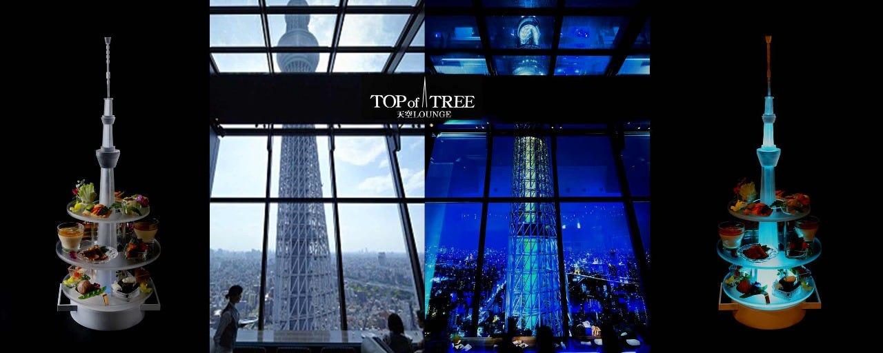 天空ラウンジ TOP of TREE