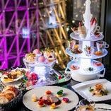 アミューズタワー含む旬の食材を使用したWメインのスタンダードコース『TOP DINNER』