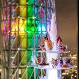 多彩な前菜が楽しめる、当店一番人気の「アミューズ・タワー」