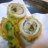 【冬季限定】穴子の牡蠣巻