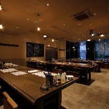 開放感溢れる癒しの大衆酒場Dining