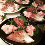 本日鮮魚の刺身盛り合わせ