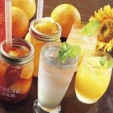 ◆和・洋酒問わず種類豊富にご用意