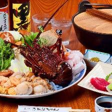 【各種ご宴会におすすめ】「メインの鍋3種より選べる」 飲み放題付き 5,000円宴会コース