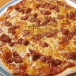 コンビーフのピザ