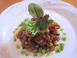 イイダコのトマト煮