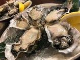 【生牡蠣】新鮮な生牡蠣をご用意しております。
