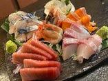 【海鮮】刺身や浜焼き、海鮮丼などをご用意!