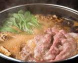 極上の黒毛和牛のすき鍋は まさに絶品!