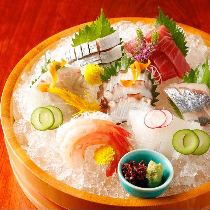 築地朝獲れ!四季を愉しむ鮮魚