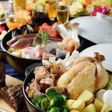 宴会にオススメなお鍋のコースを新たにご用意しました!