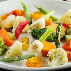 地野菜の炙り焼き盛り合わせ