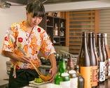 女性オーナーが切り盛りする、カニ料理が自慢の小料理屋です。