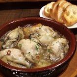 広島県産 牡蠣のアヒージョ