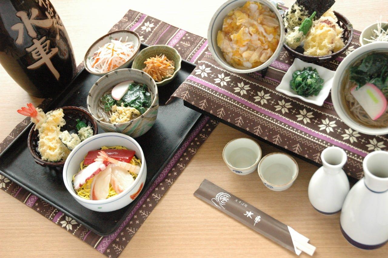 ☆蕎麦付きのお得な定食・御膳☆