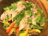 米豚 越王の冷しゃぶサラダ