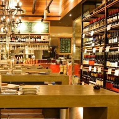 ワイン渡辺。大須別店  店内の画像
