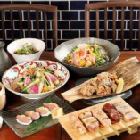 シーンに合わせて選べる種類豊富なコース料理!!