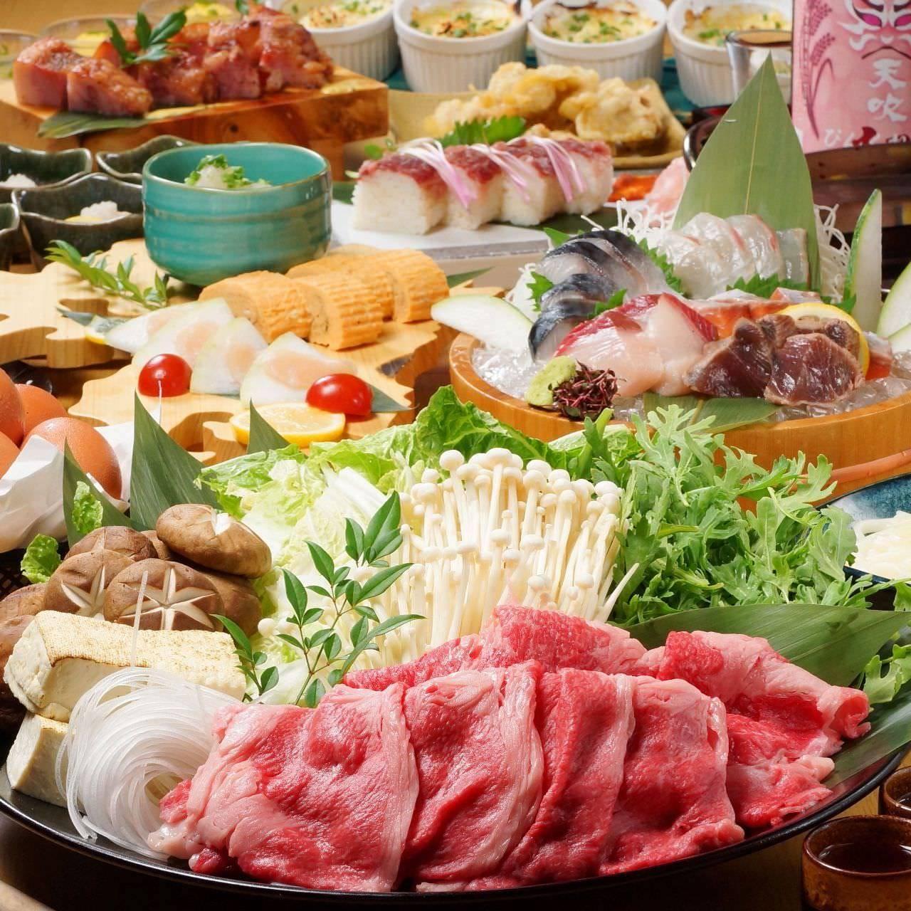 お鍋の宴会コースも充実!!