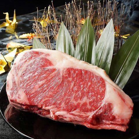 ステーキや炙りなど極上の黒毛和牛をご提供いたします。