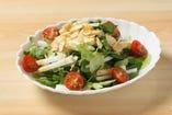 長いもとニンニクのサラダ