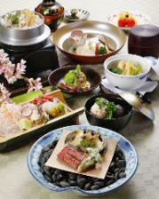旬の食材、四季を組み込んだ京料理