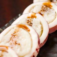 イカの「射込み寿司」