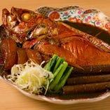 もはや地魚の王様。豪快金目鯛料理。【千葉県】
