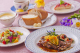 日替りランチスープパンサラダティ¥1000自家製デザート13種¥328